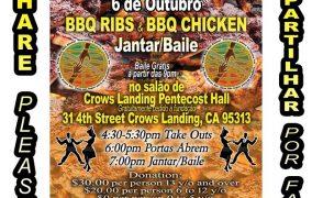 BBQ Ribs & Chicken Fundraiser & Dance - Portuguese Bom Samaritano Foundation (P.B.S.F.)