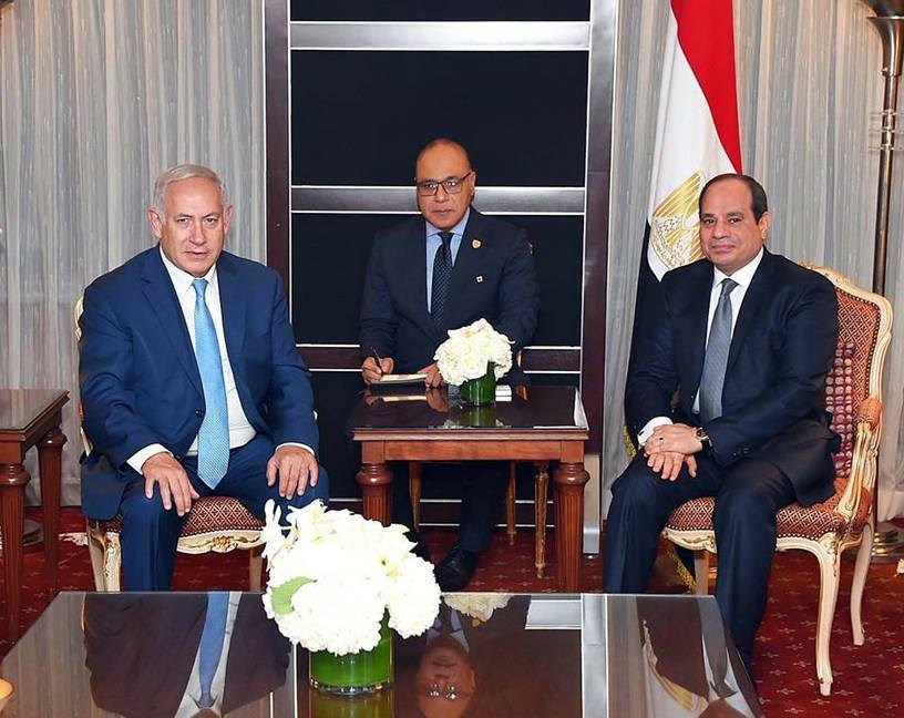 Al-Sisi meets Italian, Portuguese, Israeli leaders in New York