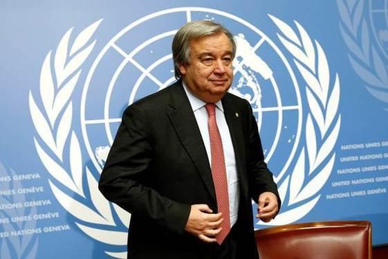 Climate change is absolute priority, says UN chief Antonio Guterres