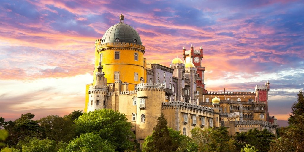 I visited the Portuguese castle called 'Disneyland for adults,' and it's a magical, real-life fairy-tale setting you can't miss