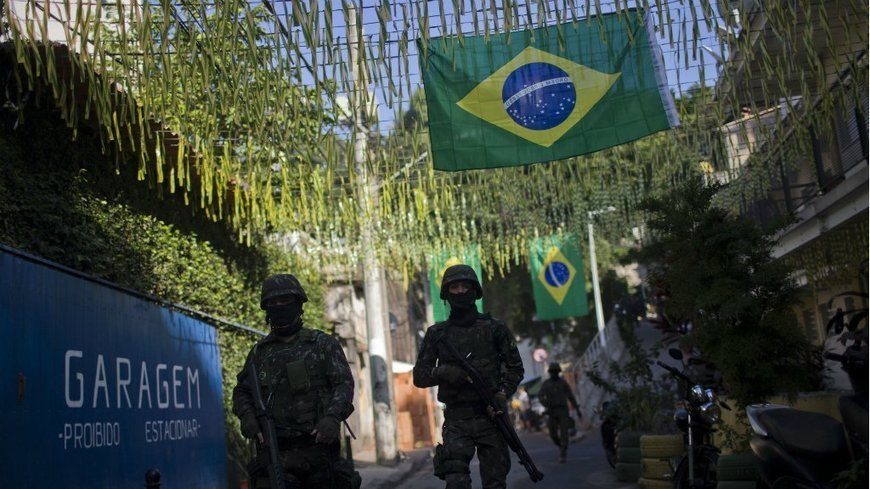 The military is back in Brazilian politics