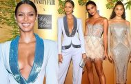 Victoria's Secret model Lais Ribeiro turns heads at Vanity Fair party | Daily