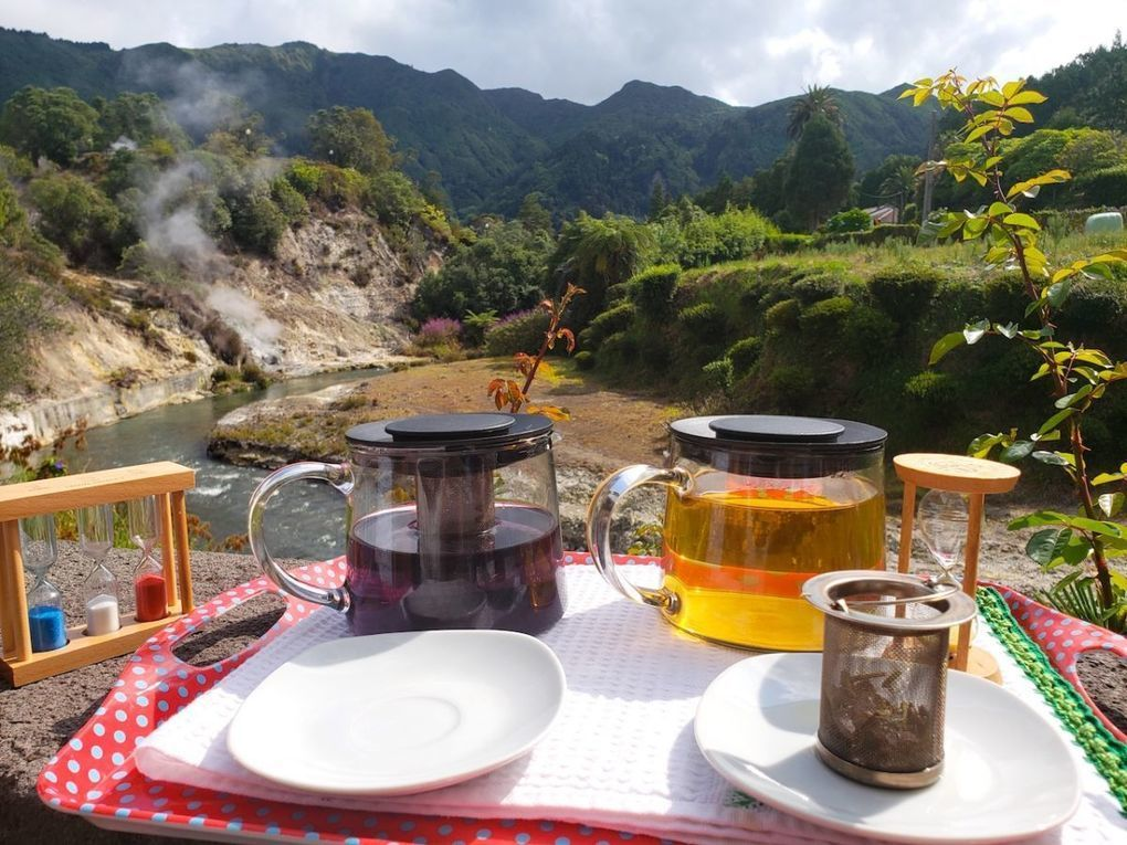 Where to go in Furnas, Sao Miguel, Azores Islands for breakfast and tea