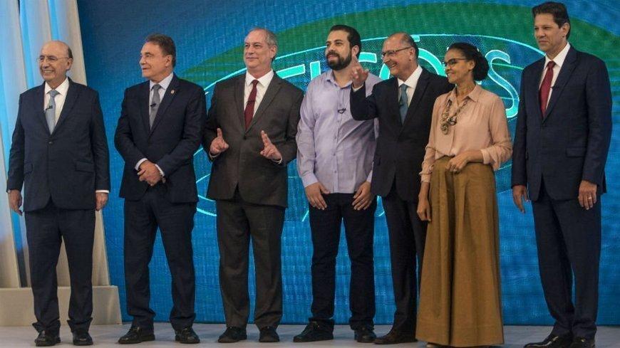 Absent frontrunner dominates Brazil's high-stakes presidential debate