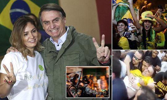 Far-right ex-soldier Jair Bolsonaro wins the Brazilian election   Daily
