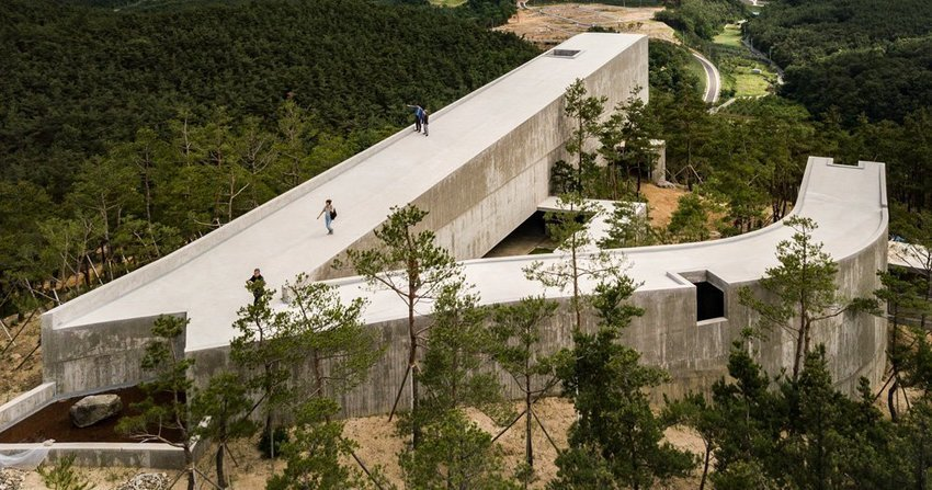 álvaro siza and carlos castanheira design buildings for korea's saya park
