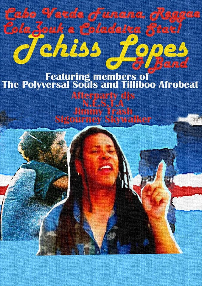 Cabo Verde Legend Tchiss Lopes with Band and Djs at Arkaoda, Berlin!