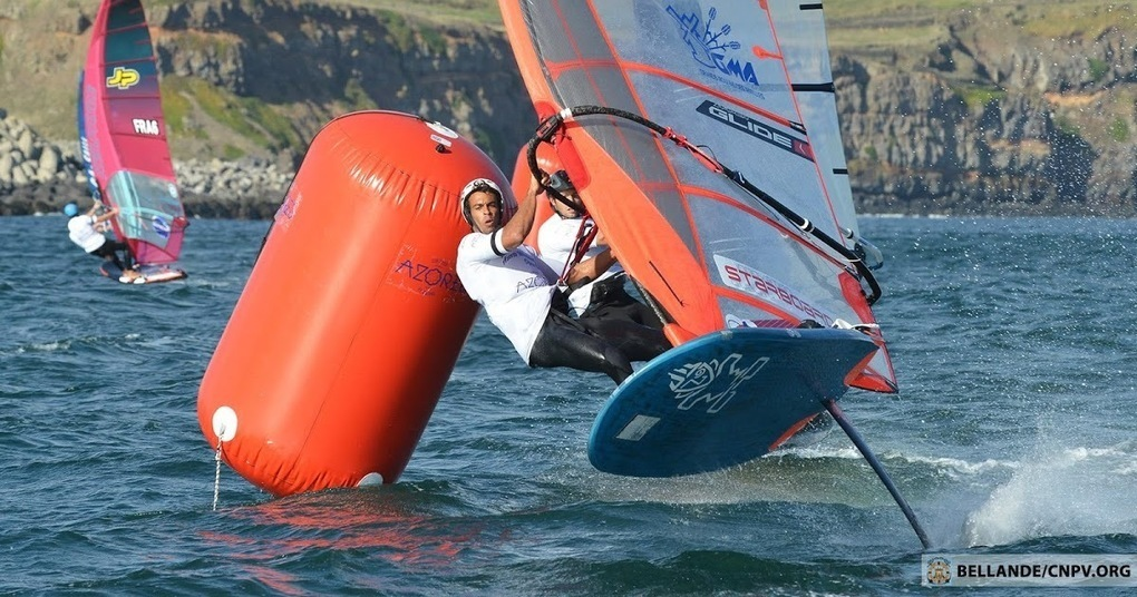 Azores Wind Foil Challenge 2018: Day 1 by Eric Bellande