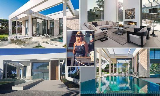 Luxury homes for sale at Quinta do Lago resort in Portugal where Holly Willoughby hangs out. | Daily