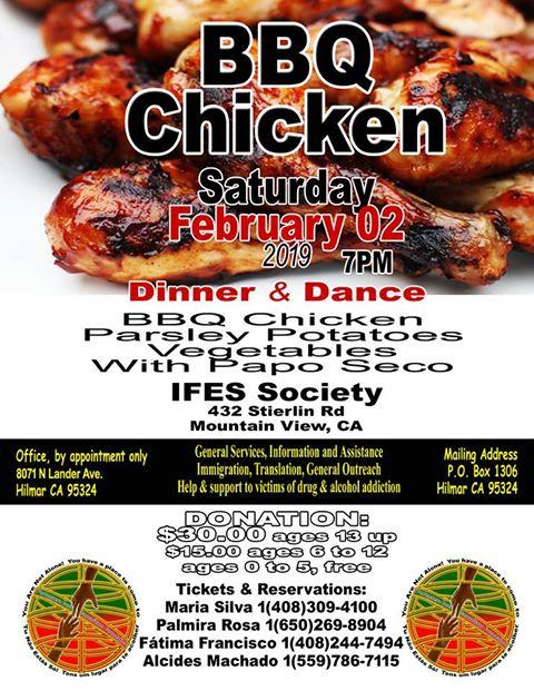 BBQ Chicken & Dance Fundraiser - Bom Somaritano - IFES Society - 2019!