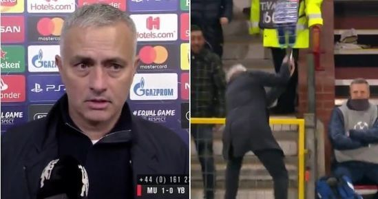 Mourinho Explains Wild Celebration Of Late Manchester United Winner