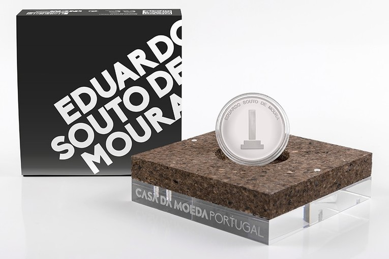Portugal: Latest collector coin issued in honour of Portuguese architect and designer Eduardo Souto Moura | Coin Update