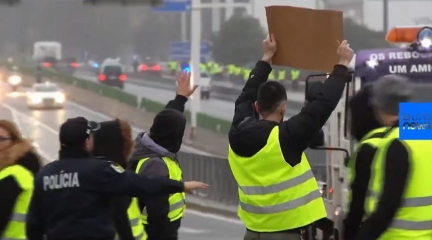 Yellow vest protests spread to seventh country in 'revolutionary Europe'