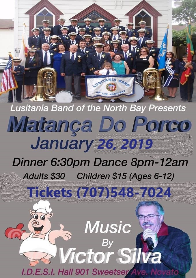Matança do Porco - Lusitania Band of the North Bay - 2019