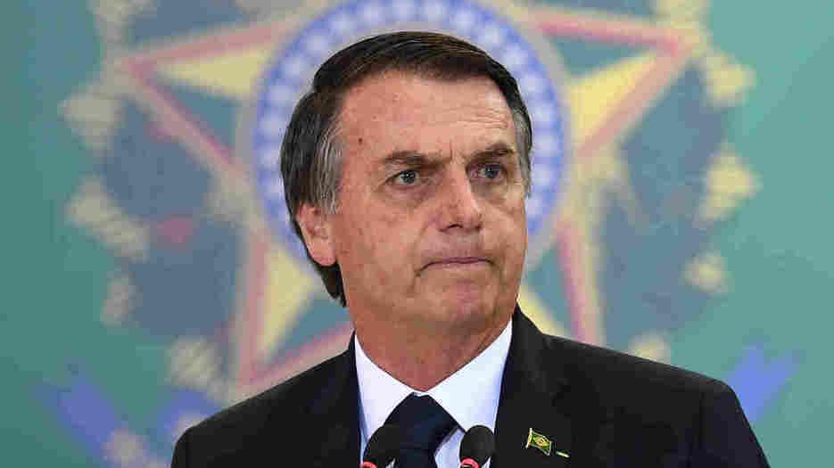Brazilian President Bolsonaro Withdraws From U.N. Compact On Migration : NPR