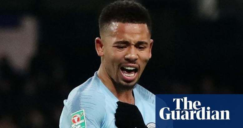 Manchester City ready to help Gabriel Jesus after family return to Brazil | Football | The Guardian