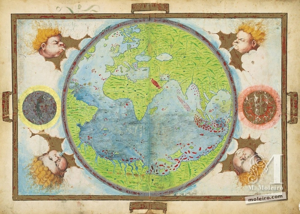 500 Years after the First Voyage around the World: Secrets of the Atlas Miller