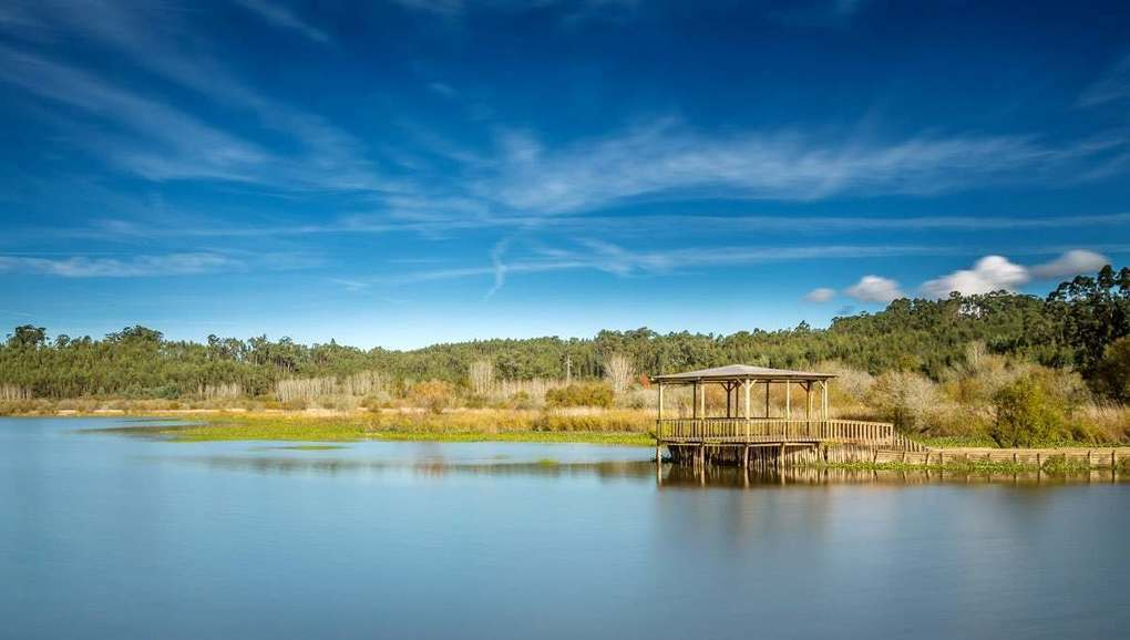 Pateira de Fermentelos - the largest natural lagoon of the Iberian peninsula