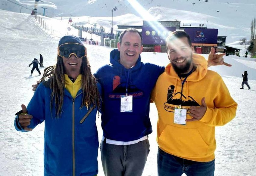 Portuguese skiers laud Iranian hospitality