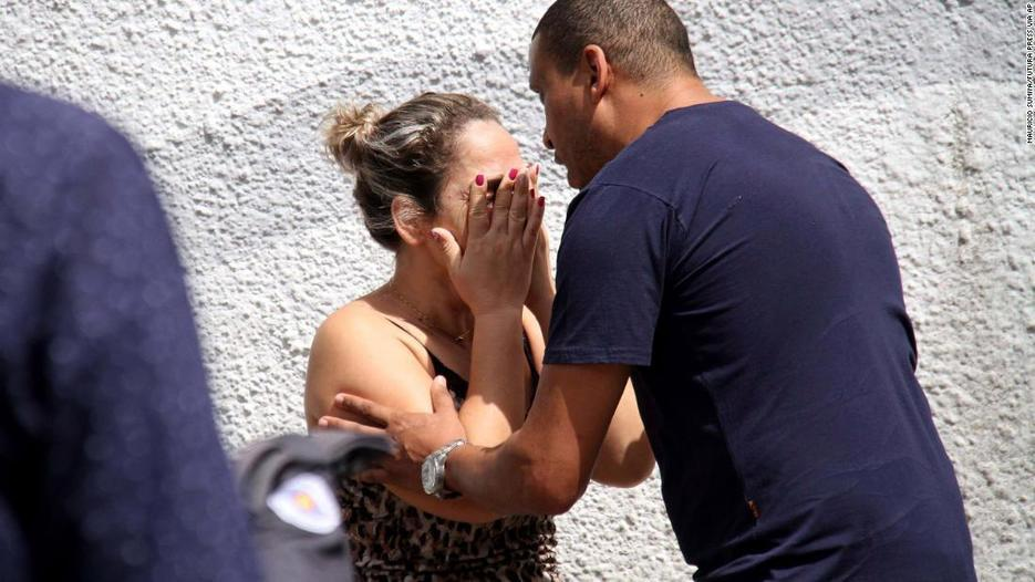Brazil school shooting: At least 8 killed