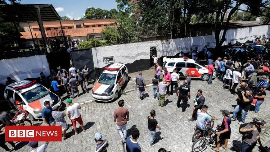 Brazil school shooting: São Paulo gunmen were former pupils