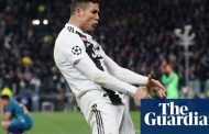 Cristiano Ronaldo charged with improper conduct for Atlético celebration | Football | The Guardian