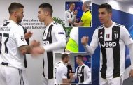 Cristiano Ronaldo seen firing up Juventus team-mates in tunnel before Atletico Madrid win | Daily