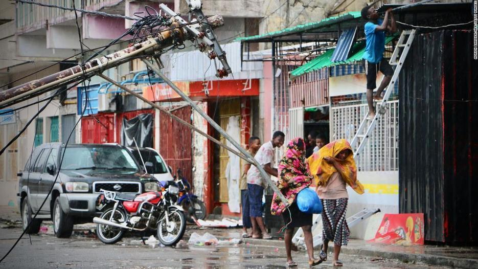 Cyclone Idai may have killed more than 1,000 in Mozambique, President says