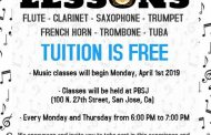 PBSJ Offering Free Music Lessons - for Adults too - San Jose, California!
