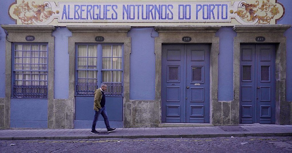 building pictures presents the restoration of a homeless shelter in porto