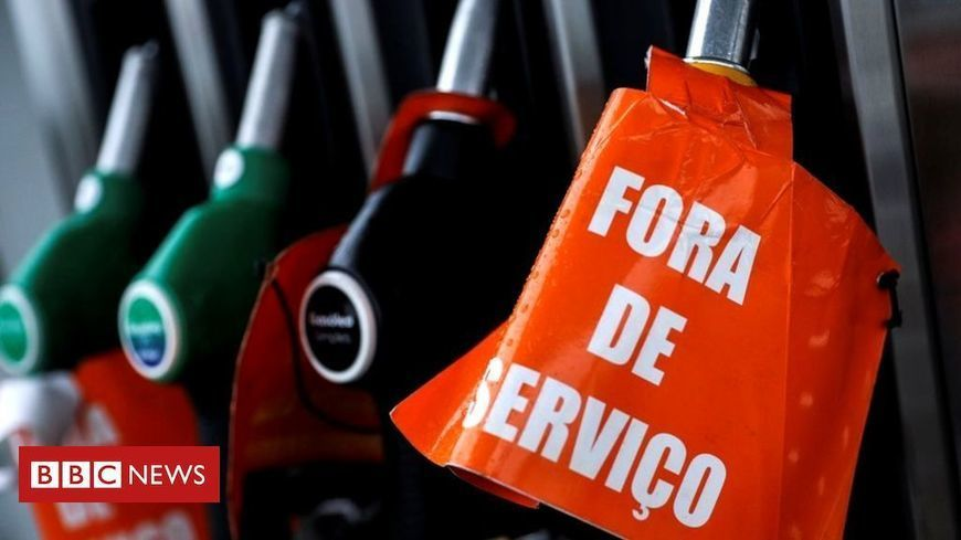 Fuel shortages across Portugal amid hauliers' strike