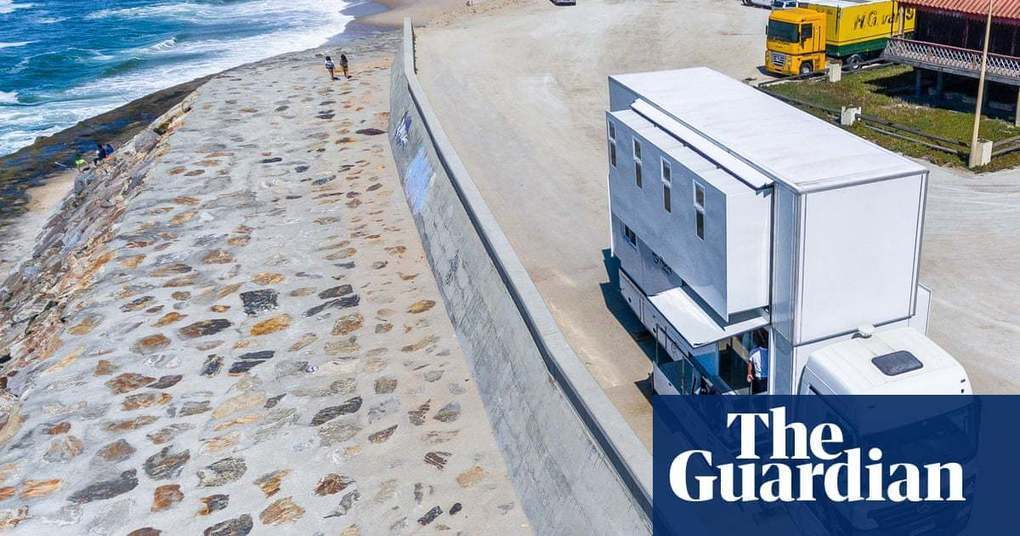 Mobile foam: Surf Portugal's best waves – by B&B truck | Travel | The Guardian