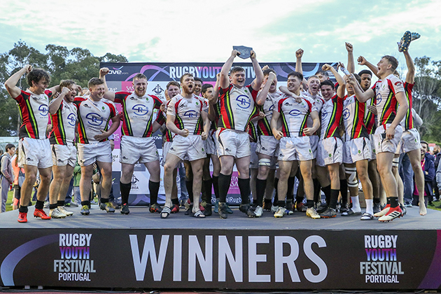 Worldwide winners at Portugal Rugby Youth Festival