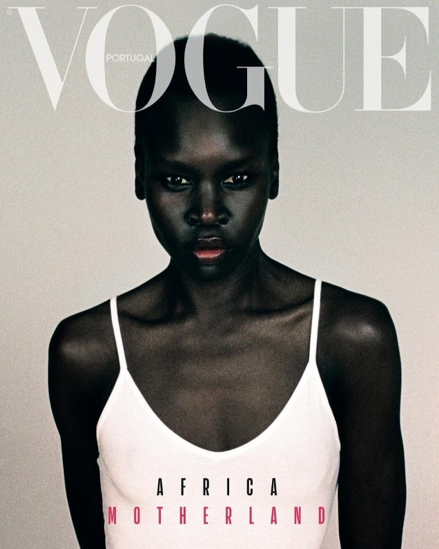 Vogue Portugal April 2019 Alek Wek Thando Hopa