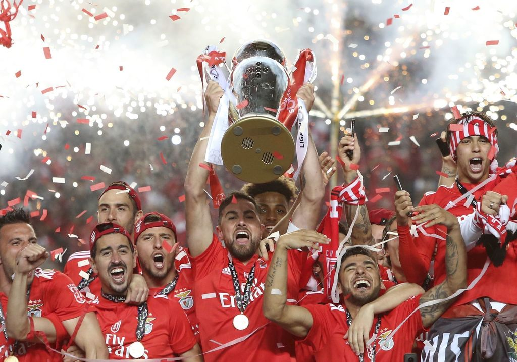 Benfica wins 5th Portuguese league title in 6 seasons -
