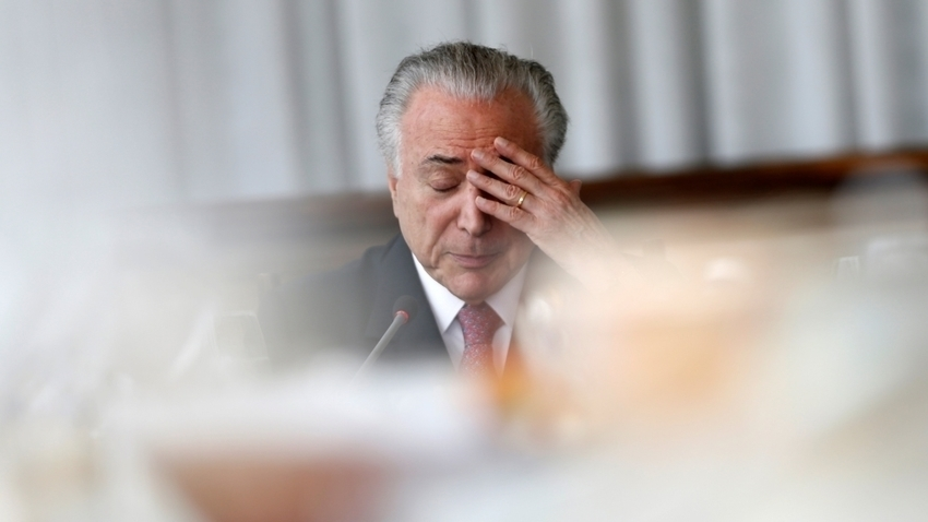 Brazil ex-President Temer turns himself in on corruption charges | Brazil News -
