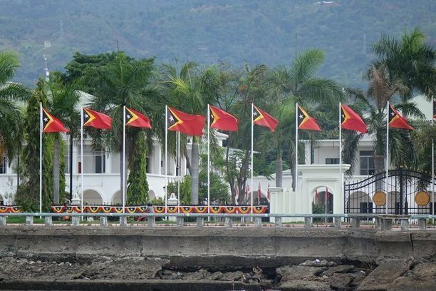 Chinese company builds a port in southern Timor-Leste –