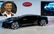 Cristiano Ronaldo 'secretly buys a one-of-a-kind £10m Bugatti Voiture Noire hypercar'