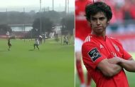 Benfica wonderkid Joao Felix scores outrageous training ground goal  | Daily