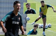 Cristiano Ronaldo shows off his flair as Portugal prepare for Nations League semi-final clash | Daily