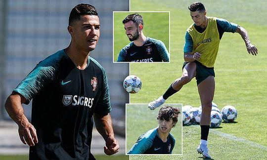 Cristiano Ronaldo shows off his flair as Portugal prepare for Nations League semi-final clash | Daily