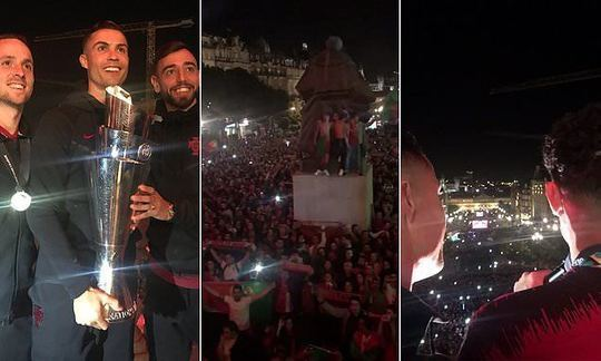 Portugal stars celebrate Nations League triumph in Porto | Daily
