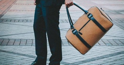 Startup Turns Ocean Plastic Into A Travel Bag -