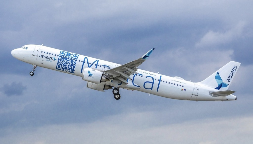 Azores Airlines takes delivery of its first Airbus A321LR -
