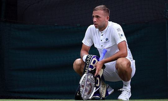BBC 'relegates' Britain's last man standing as Dan Evans thrilling defeat to Portuguese Joao Sousa   Daily