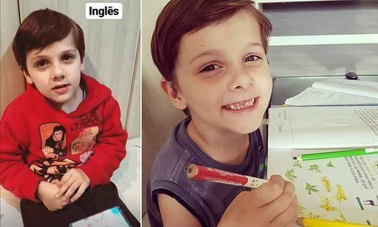 Brazilian boy, 7, diagnosed with autism at 2, stuns doctors by mastering NINE languages | Daily