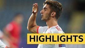 European Under-19 Championship: Spain beat Portugal 2-0 in final -