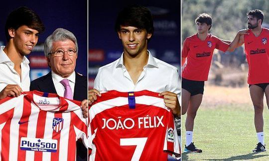 Joao Felix officially unveiled as an Atletico Madrid after £114m move | Daily