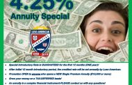 Luso-American Financial - A Fraternal Benefit Society - 4.25% Annuity Special!