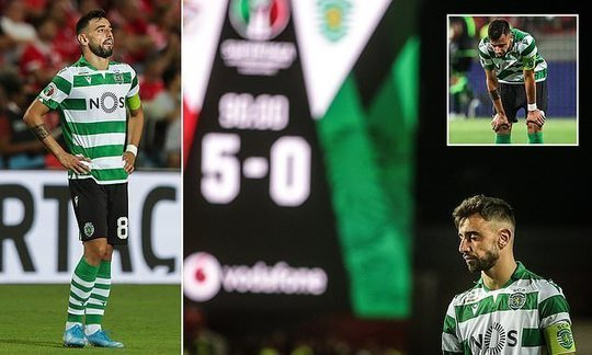 Benfica 5-0 Sporting Lisbon: Bruno Fernandes features in Portuguese Super Cup final hammering | Daily -